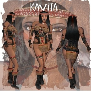 Native American Avatar for Sale in Second Life